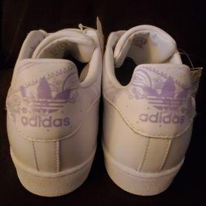 adidas Shoes - Adidas Superstar White & Purple Men US 11
